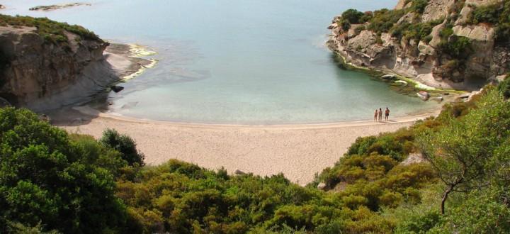 Spiaggia di Cumpoltitu a Bosa
