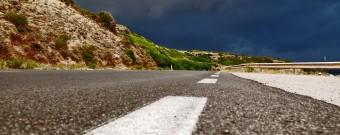 Road Bosa-Alghero - Foto di Dan Fleming