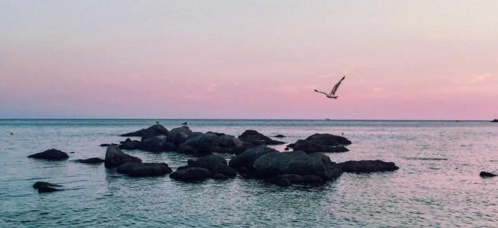 Bosa Marina, tramonto alle Colonie