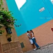 Baci tra i colori del borgo