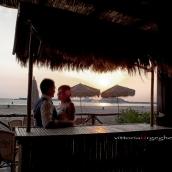 Gli sposi a Bosa Marina