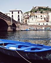 La barca sul Fiume Temo