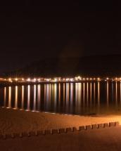 Bosa Marina by night