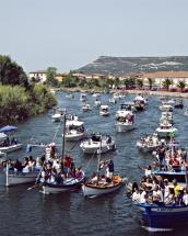 Processione in barca della Madonna del Mare