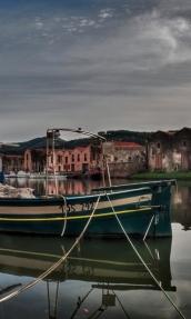 Barca sul fiume Temo